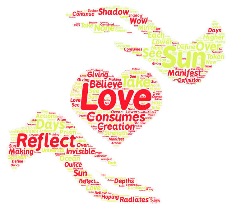 Reflection of your love