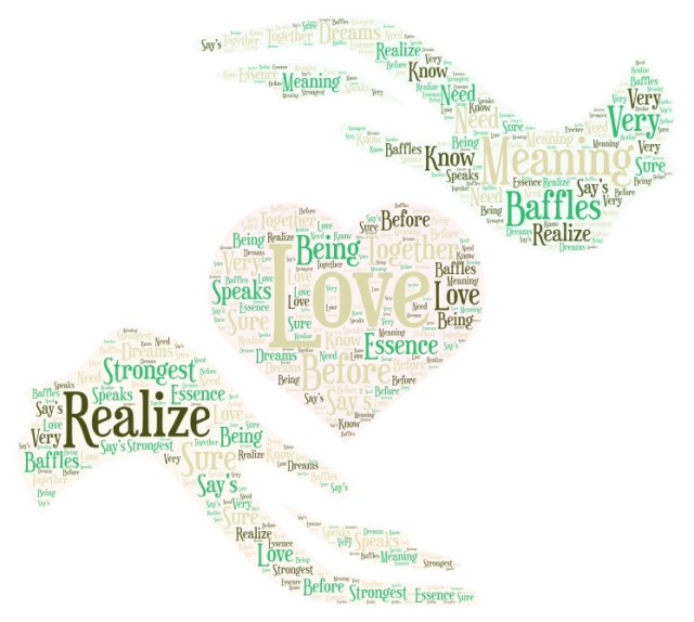 The meaning of your love