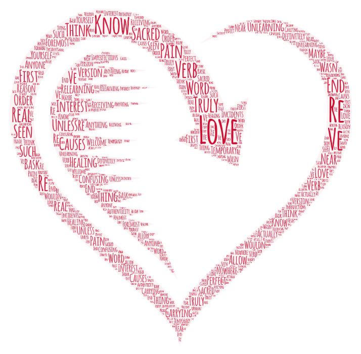 Love is sacred….